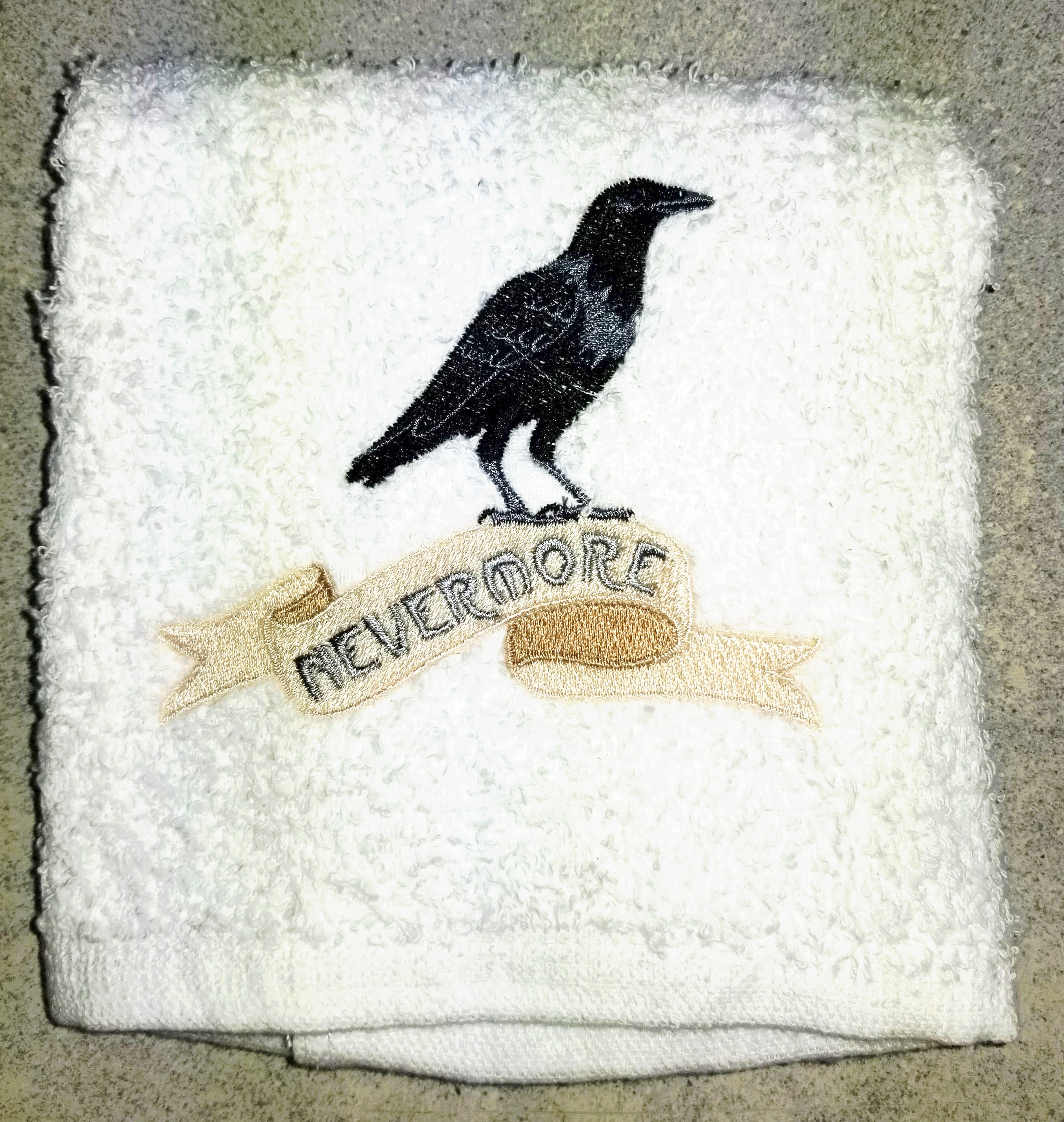 Nevermore towel